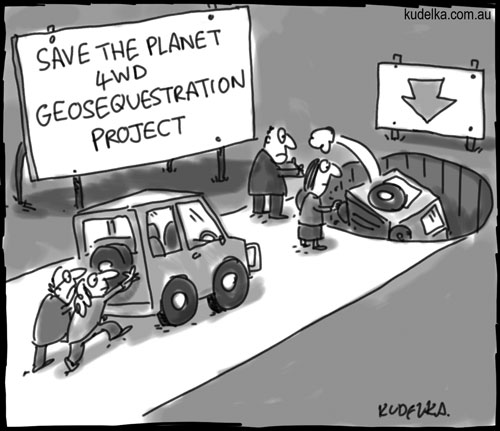 4WD geosequestration