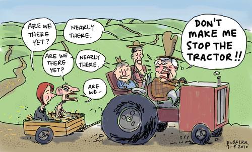 the hayride to hell  u2013 kudelka cartoons